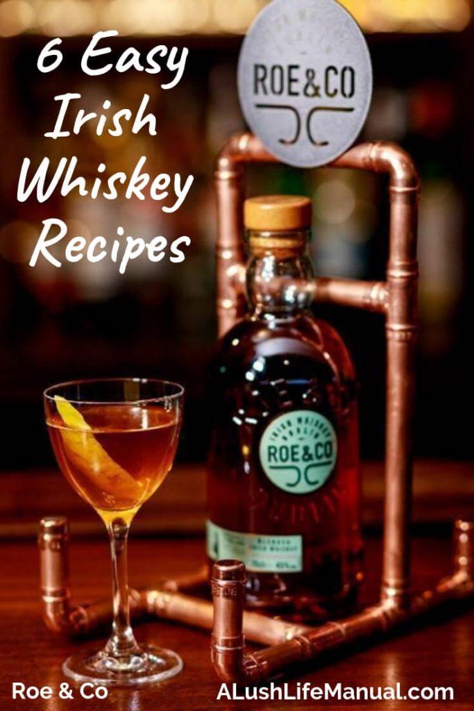 6 Easy Irish Whiskey Cocktail Recipes - Pinterest