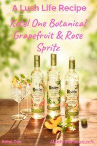 Ketel One Botanical Grapefruit & Rose Spritz