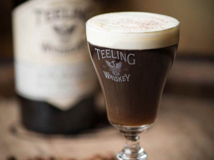 Teeling Irish Coffee, James Goggin, Maverick Drinks, London - Cocktail Recipe