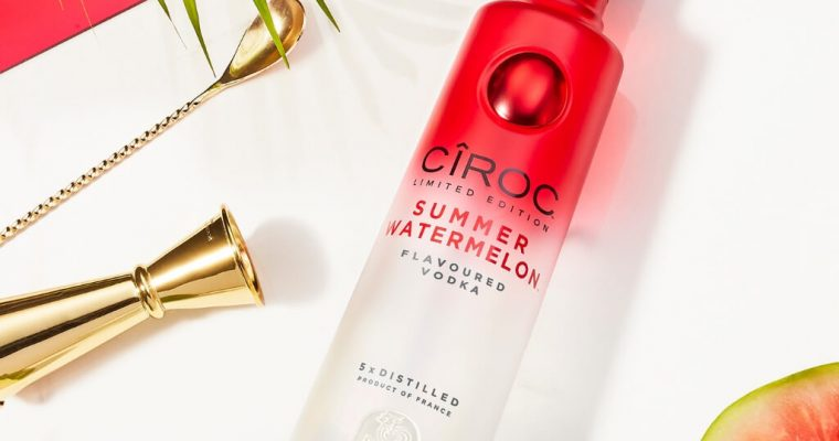 Cîroc launches new limited-edition watermelon variant in time for summer celebrations