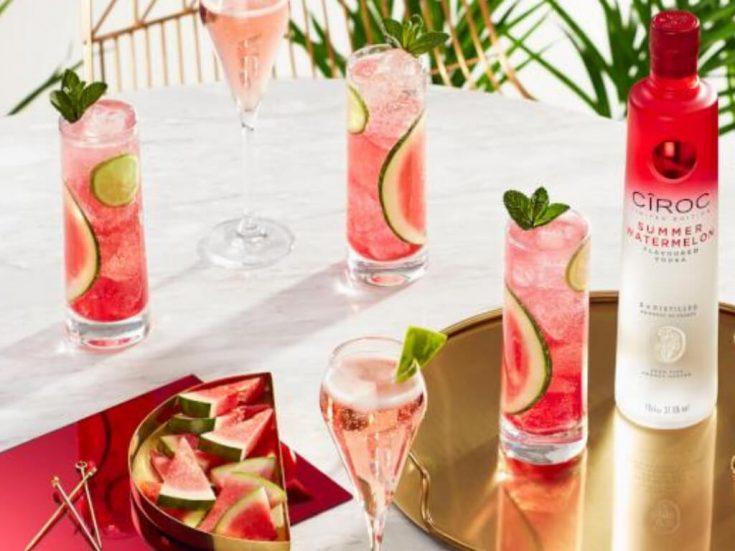 Cîroc limited-edition watermelon cocktails