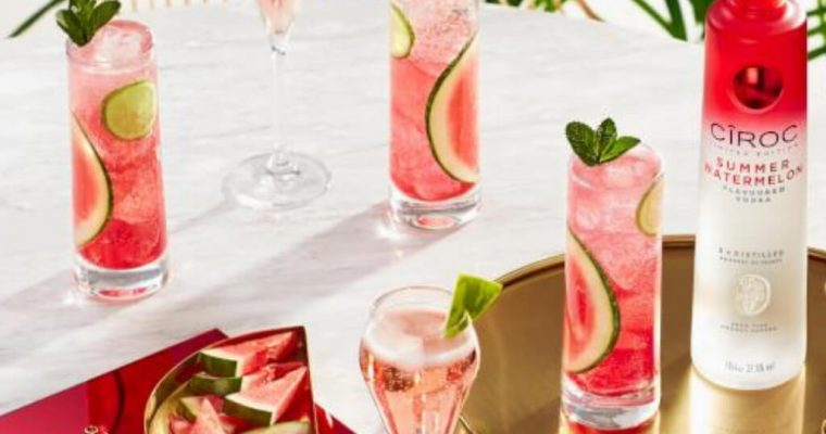 Cîroc Watermelon Royale – Cocktail Recipe