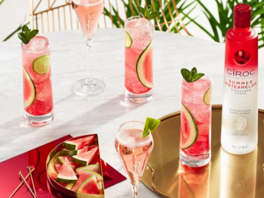 Cîroc Watermelon Spritz – Cocktail Recipe