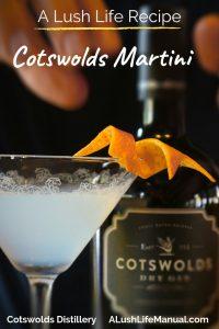 Cotswolds Martini, Cotswolds Distillery, Shipston-on-Stour - Pinterest