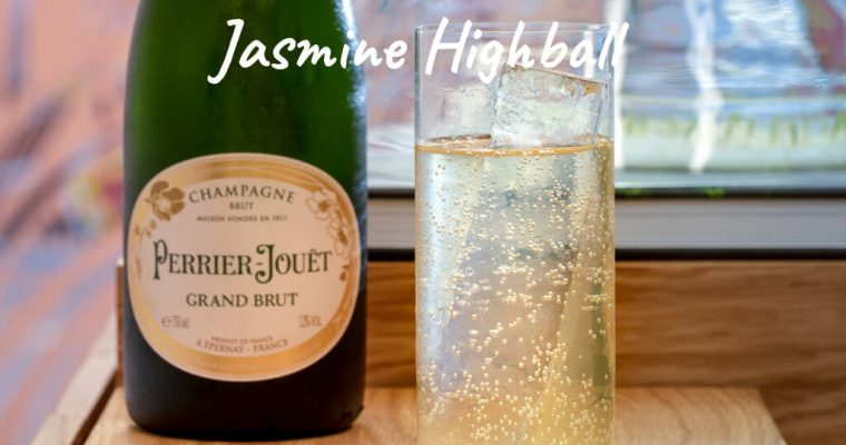 Jasmine Highball by Monica Berg, Muyu Liqueurs