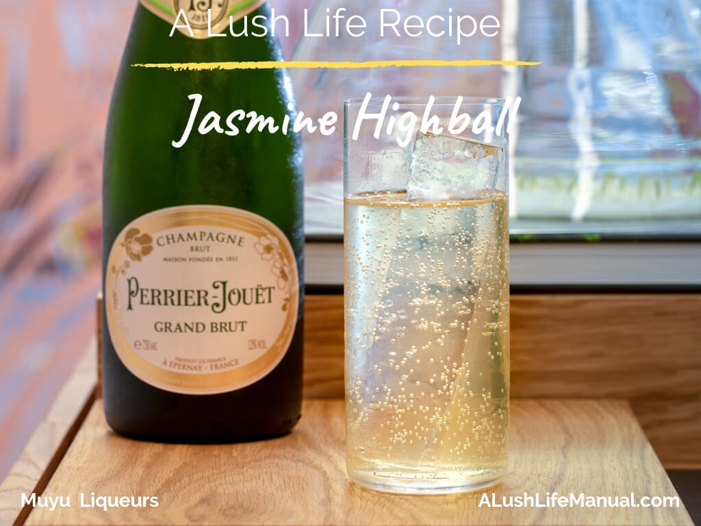 Jasmine Highball by Monica Berg, Muyu Liqueurs