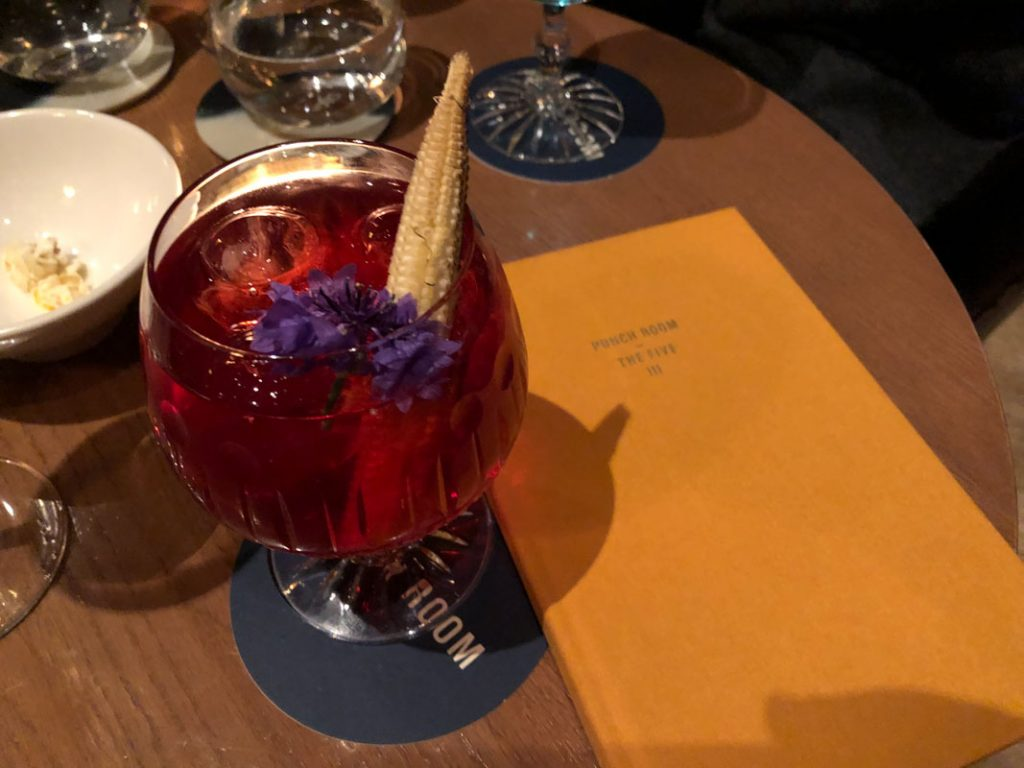 London Hotel Bars - Punch Room, London Edition, London