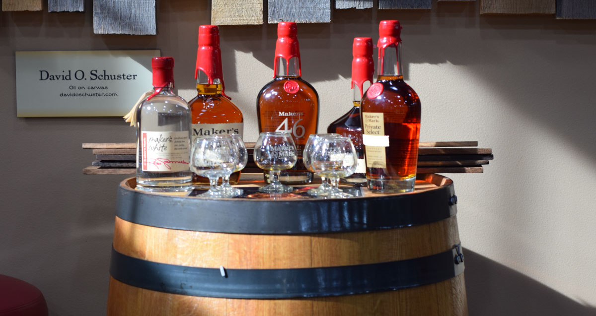 Maker's Mark Distillery Tour - Tasting