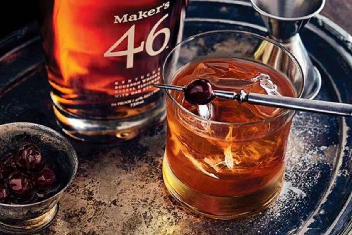 How to Make the Maker's Mark 46 Manhattan