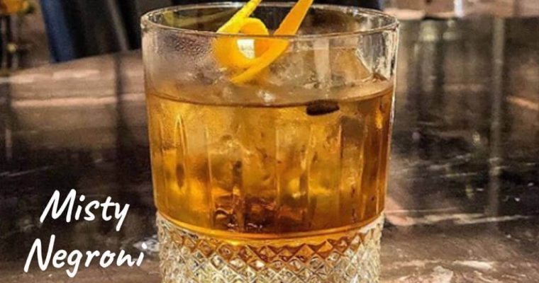 Misty Negroni by Mariantonietta Varamo – Cocktail Recipe