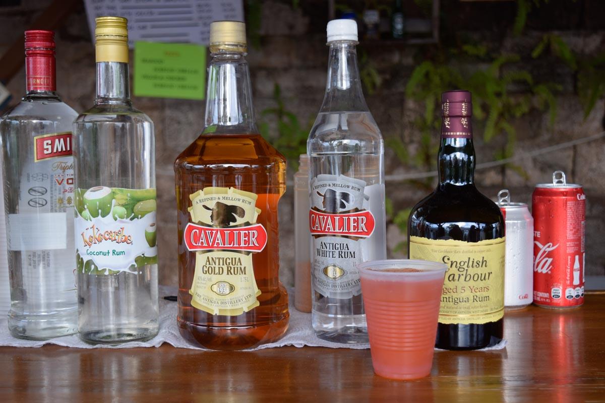 Antigua Bars - Antigua Rum