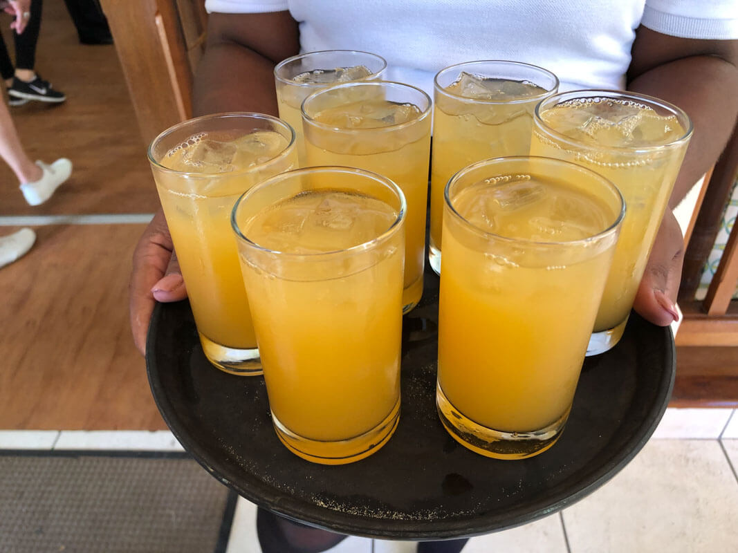 Antigua Bars - Verandah Resorts, Rum Punch