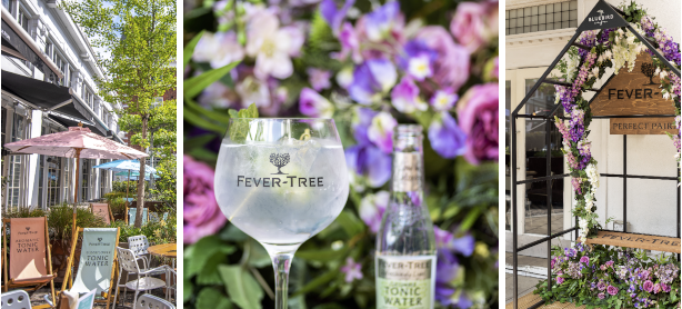 Bluebird in Bloom Arrives in Chelsea with Fever-Tree Perfect Serves Cocktail Menu