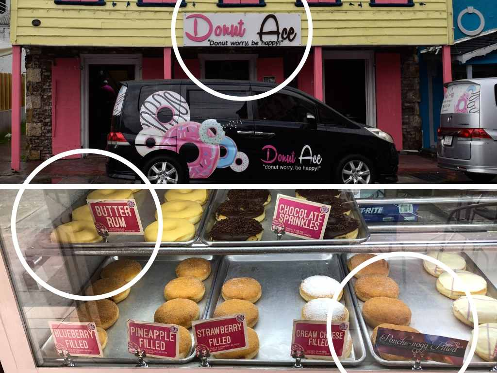 Drinking in Antigua - Donut Ace