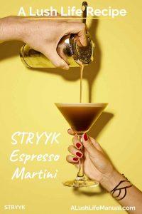 STRYYK Espresso Martini, STRYYK, London - Pinterest