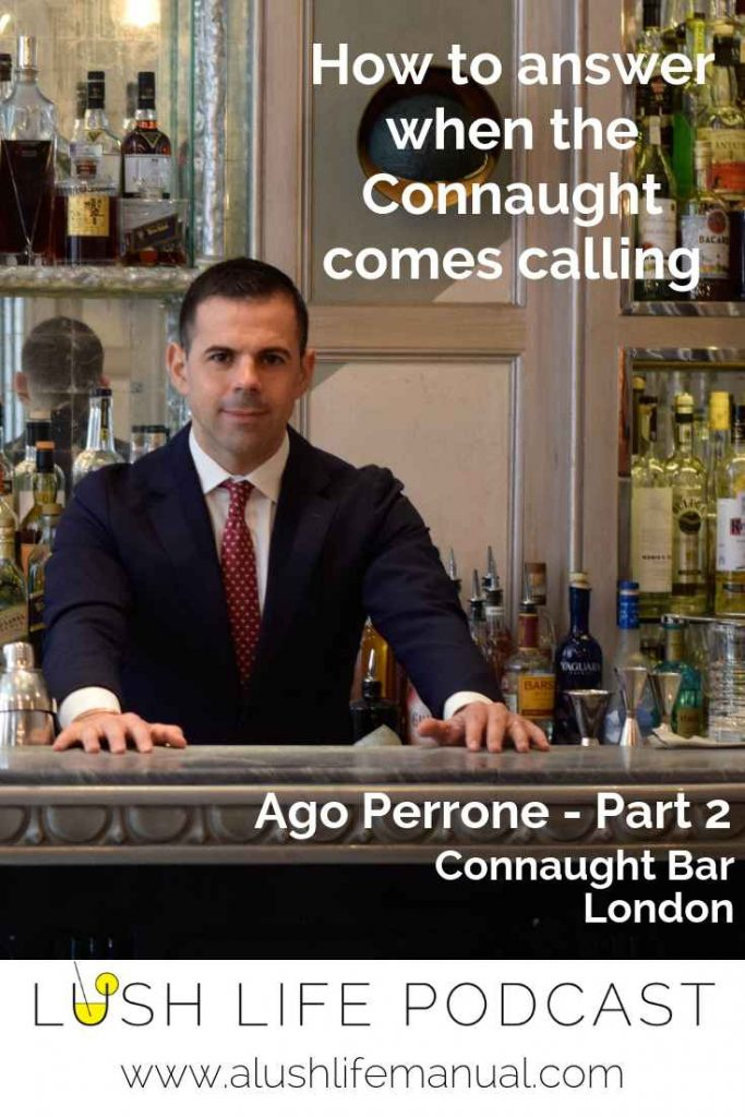 Ago Perrone, Connaught Bar, London - Part 2 - Pinterest