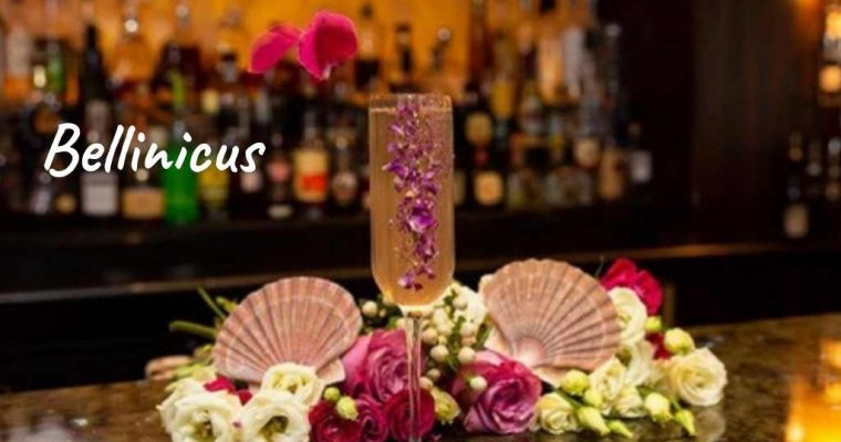 Bellinicus, Polo Bar at the Westbury Mayfair – Cocktail Recipe
