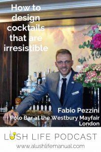 Fabio Pezzini, Polo Bar at the Westbury Mayfair, London - Pinterest