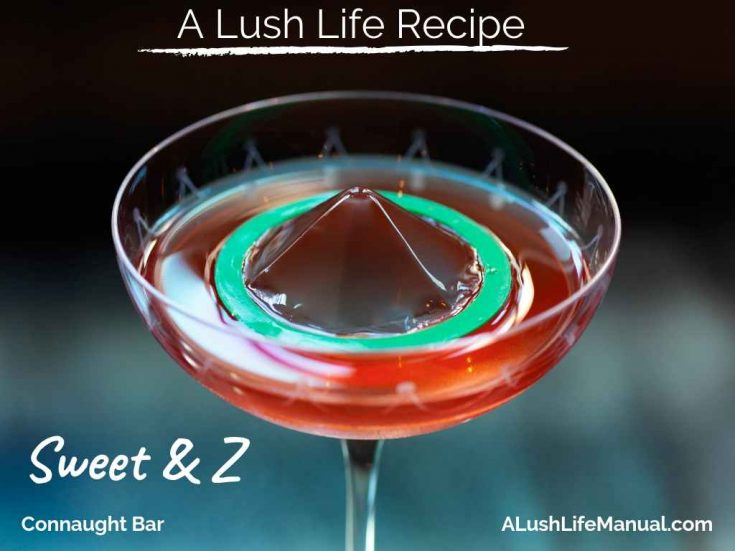 Sweet & Z, Connaught Bar, London