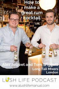 Alex Jollivet and Tom Wiggett, Long Tail Mixers, London - Pinterest