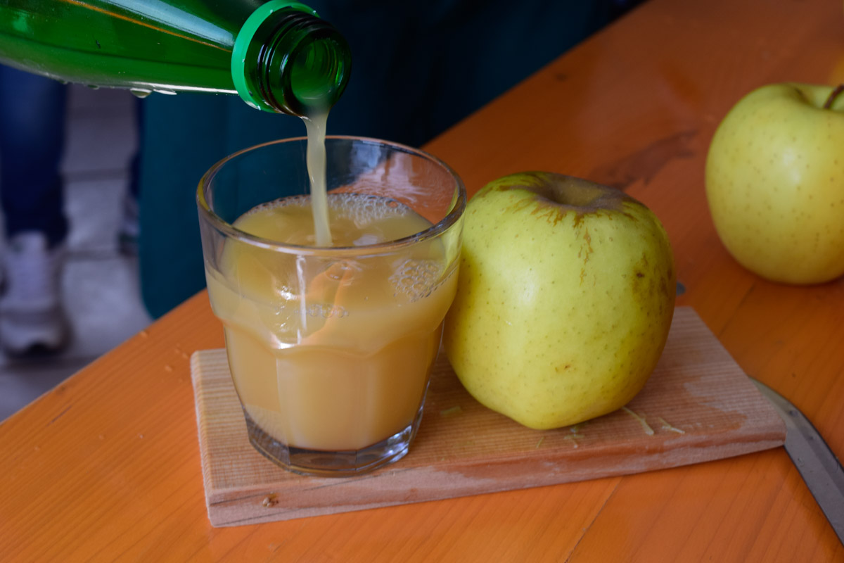 Drinking in Trentino - Apple