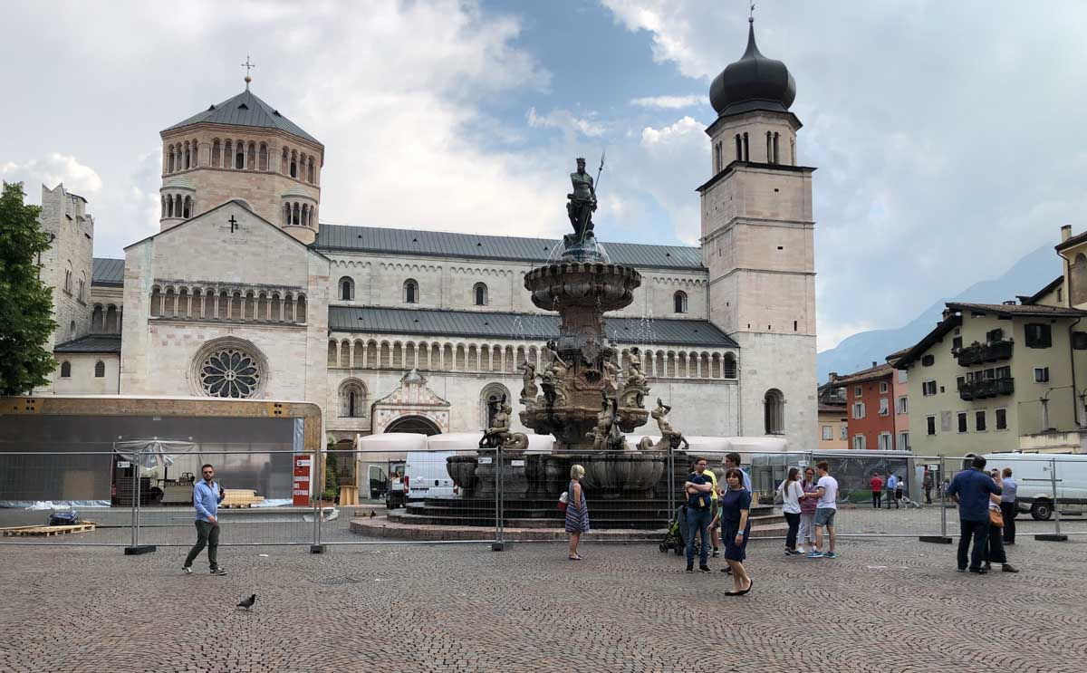 Drinking in Trentino - Duomo