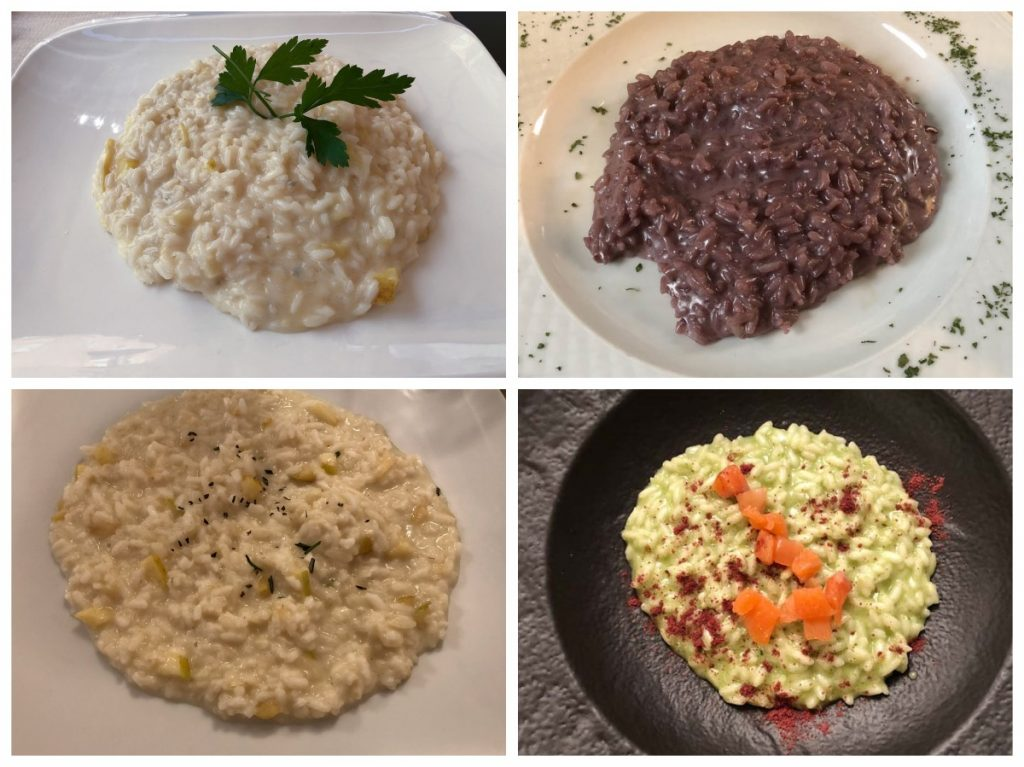 Drinking in Trentino - Risotto