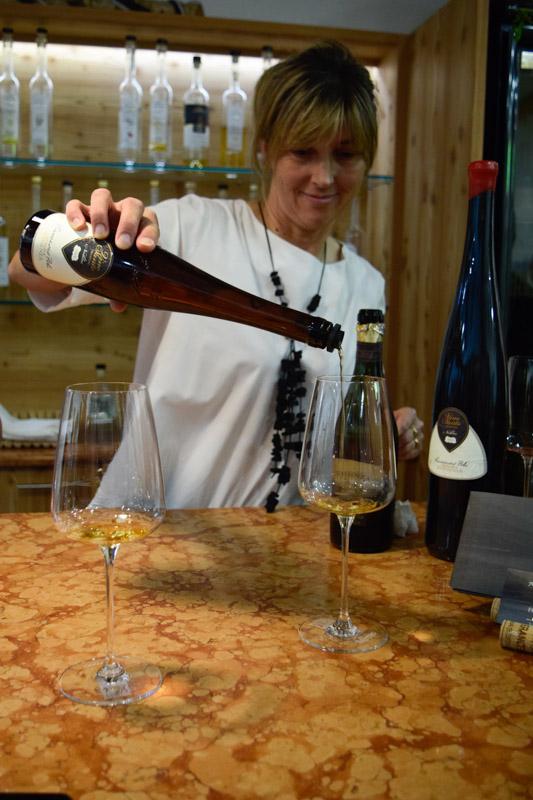 Drinking in Trentino - Vino Santo