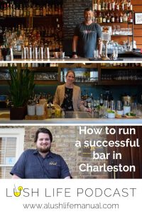 How to run a successful bar in Charleston - Pinterest