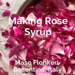 Rose Syrup, Maso Flonkeri, Trentino, Italy - Pinterest