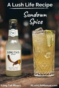 Sundown Spice, Long Tail Mixers, London - pinterest