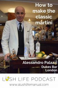 Alessandro Palazzi, Dukes Bar, London - Pinterest