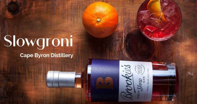 Slowgroni by Cape Byron Distillery – Cocktail Recipe