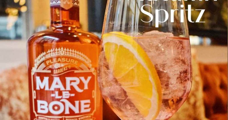 Autumn Spritz by Chris Dennis, Mary-Le-Bone Gin Global Ambassador, 108 Brasserie – Cocktail Recipe