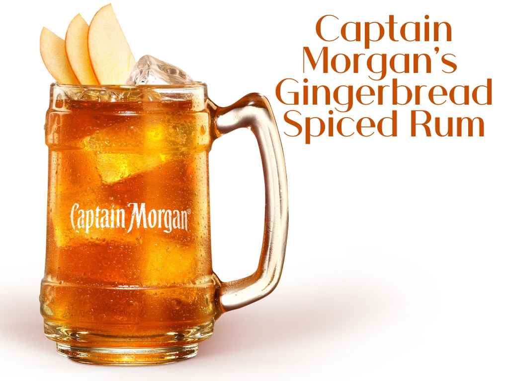 Captain Morgan's Gingerbread Spiced Rum available now!!