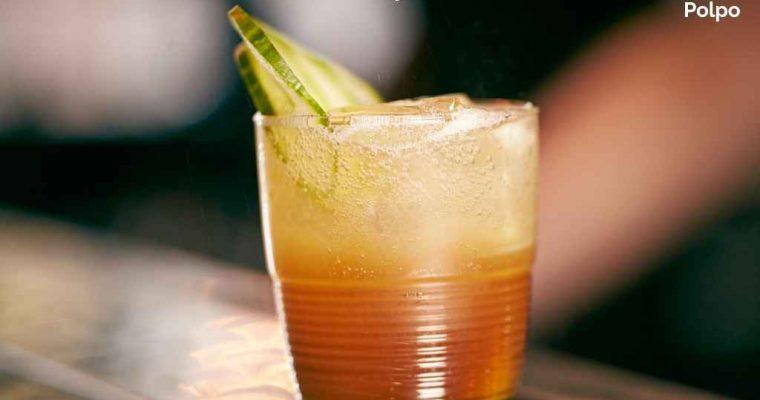 Cynar Gin Fizz at Polpo – Cocktail Recipe