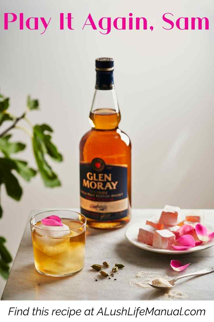Glen Moray Elgin Classic_ Play It Again, Sam - Cocktail Recipe