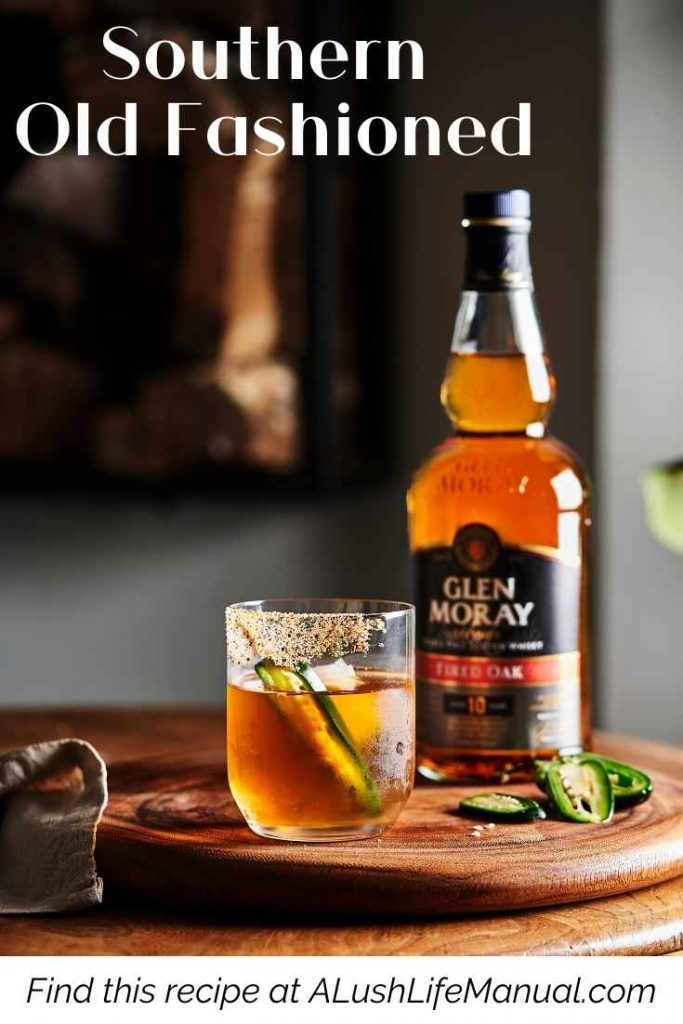 Glen Moray Fired Oak_ Southern Old Fashioned Cocktail Recipe