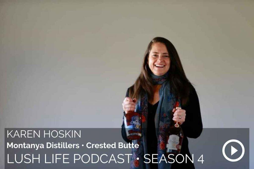 Karen Hoskin, Montanya Distillers, Crested Butte