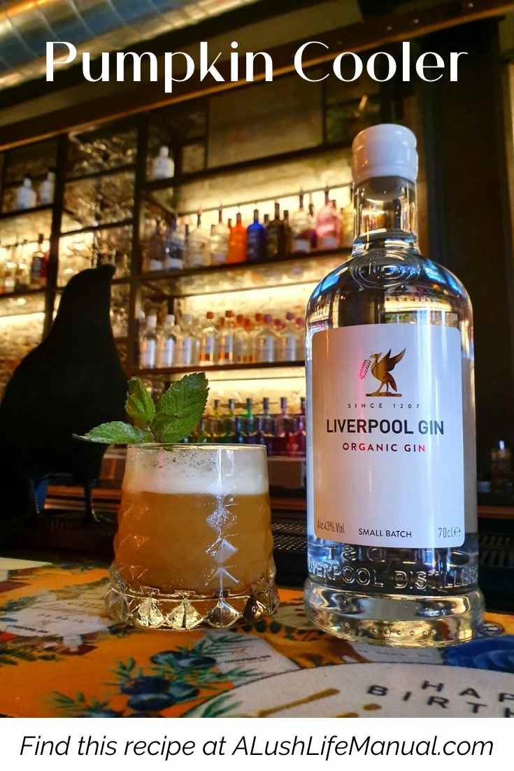 Pumpkin Coolerby Liverpool Gin - Cocktail Recipe - Pinterest
