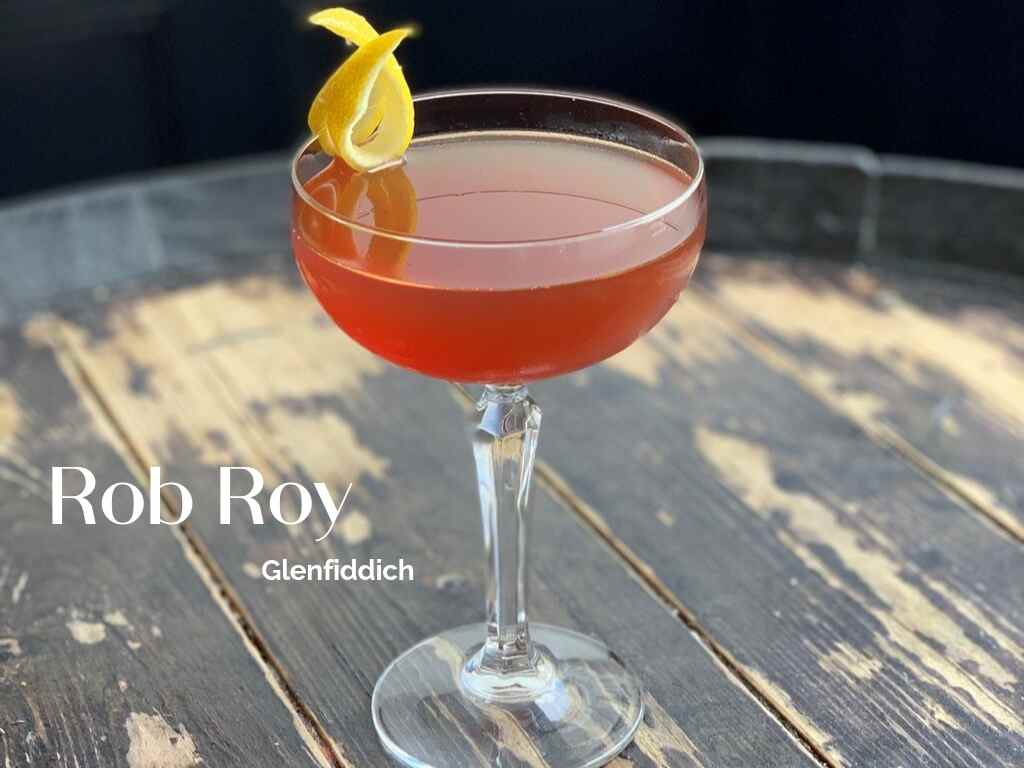 How to Make the Rob Roy by Alex Walker, Glenfiddich