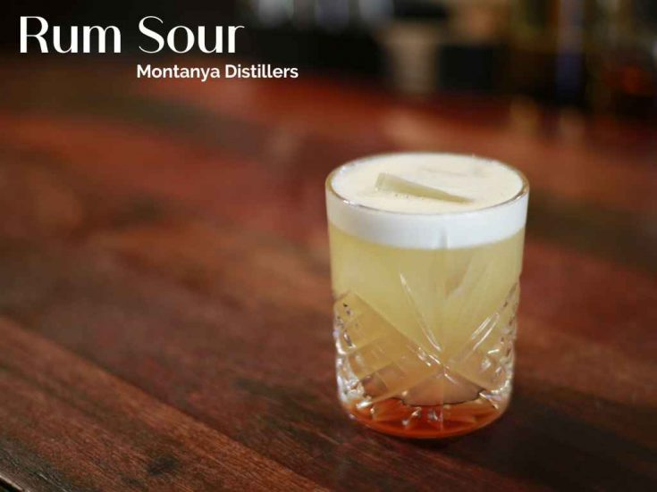 Rum Sour, Montanya Distillers, Crested Butte