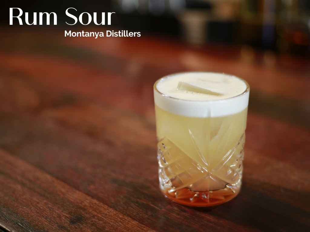 Rum Sour by Montanya Distillers, Crested Butte – Cocktail Recipe