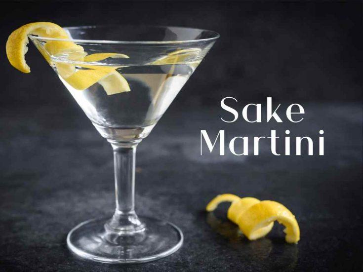 Sake Martini - Cocktail Recipe