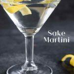 Sake Martini - Cocktail Recipe - Pinterest