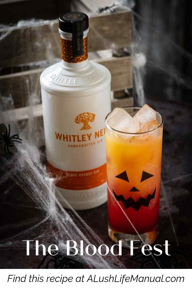 The Blood Festby Whitley Neill Gin - Cocktail Recipe - Pinterest
