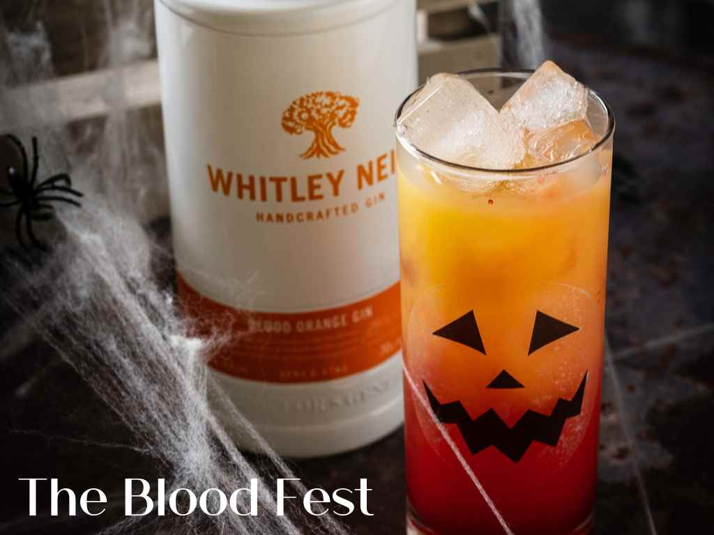 The Blood Fest by Whitley Neill Gin – Cocktail Recipe