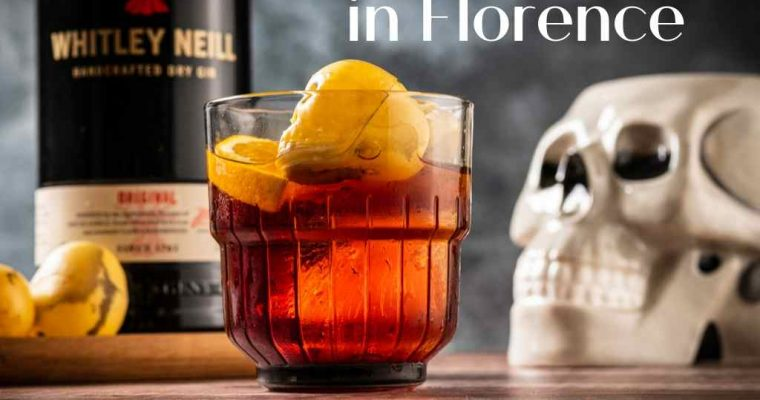 TheNightmare in Florence, Whitley Neill Gin – Cocktail Recipe