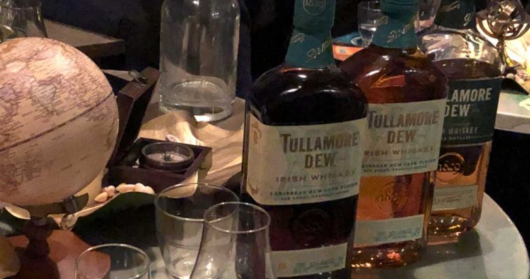 Tullamore D.E.W. Irish Whisky is Wowing Them with an XO Caribbean Rum Cask Finish