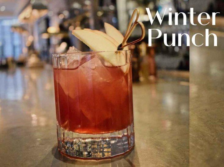 Winter Punch, 108 Brasserie, The Mary-Le-Bone Hotel, London